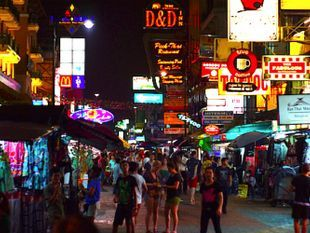Go Nightlife in Khaosan Road with A Local