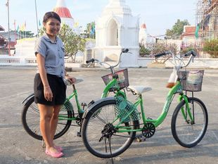 Boat Trip & Bike Trip in Ko Kret Pottery Village