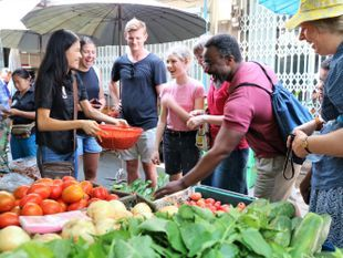 Cooking Class in Hua Hin and Tour of 100 Year Old Market