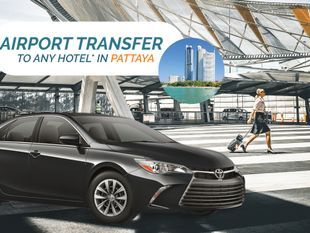 Airport Transfer to Any Pattaya Hotel by Toyota Camry
