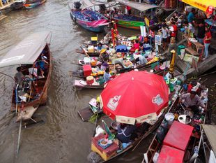 See The Amphawa Floating Market On a Private Boat Tour
