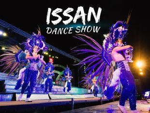 See Local Culture in Amphawa Floating Market and Issan Dance Show