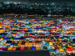 Explore Rod Fai Night Market Ratchada