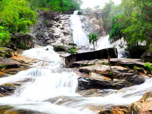 Ton Nga Chang Waterfall; Side trip from Hat Yai city