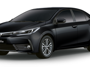 Car Rental (Toyota Altis) with Personal Driver