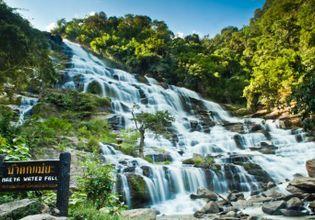 Stunning at Mae Ya waterfall.