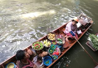 [Joined Tour] Damnoen Saduak Floating Market Tour