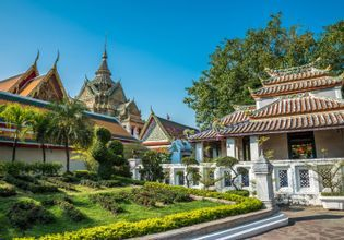 One fine day around Old-Town and the Chaophraya River