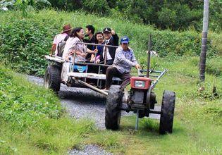Local farm tractor
