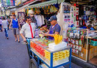 Thai fresh fruits