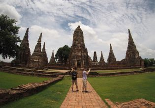 one day tour to Ayutthaya's World Heritage park with a Private car. from Bangkok