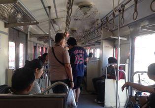 Try to take a train like a locla