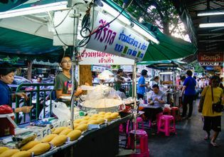 Street food all await for you