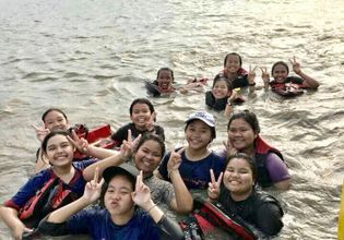 Boat Riding and Mangrove Planting