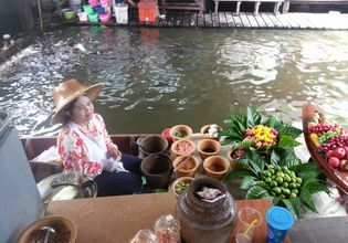 Floating market 14