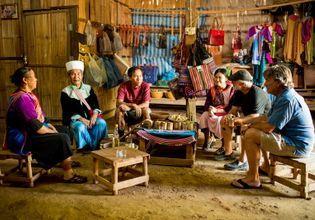 Joined Tour: Araksa Tea Plantation and Lisu Hill Tribe Village Tour (Morning)
