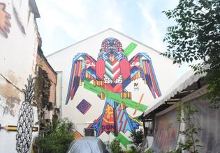 Street art in Phuket old town