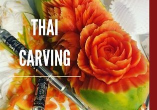 Thai Carving: craft flowers with your own hands