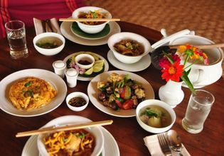 Lunch at Lisu Lodge