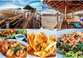 "Lunch on the Restaurant Island at ""Bangkok Seaview"""