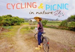Agriculture Canal & Mount Life - Cycling - Picnic in Nature
