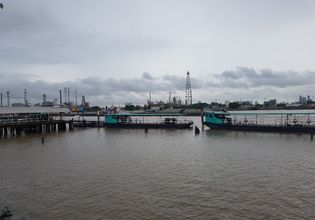 The ferry port is from Bangkok.