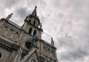 The Holy Rosary Church, also known as Kalawar Church.