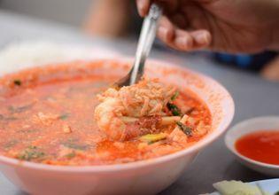 Tomyam shrimps