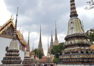 The Four Great Stupa (Wat Pho)