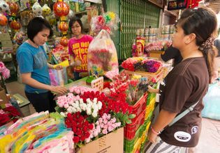 Shopping Cheaper at The Very Local Wholesale Market