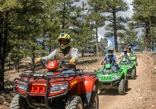 Be a Cowboy; Horse Riding, ATV Riding, Shooting Range in the Military Base with the Army Individual Instructor
