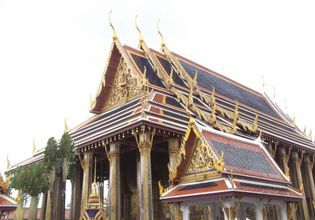 Main Chapel of the Temple of the Emerald Buddha