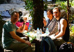 Adventure by ATV & Waterfall & Local lunch&Cafe tree house