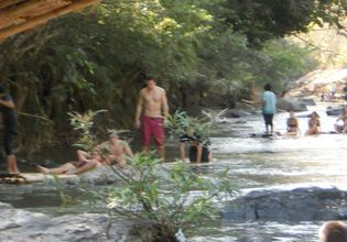 Pha Chor National Park, Bamboo rafting and Silver temple