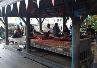 Thai traditional musicians