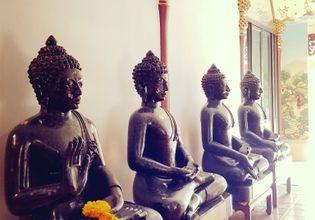 The Buddha images