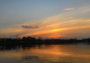 Sunset at Sithan Marsh