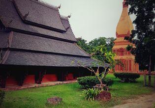 The northern thai village