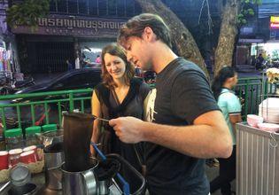 Let's try to do Kafae Boran - local Thai coffee