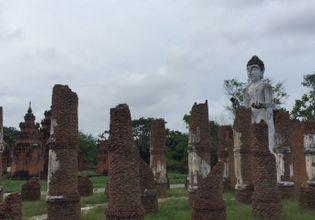 Dvaravati Wihan Sukhothai