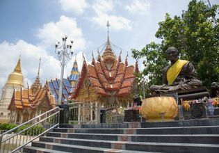 Amulet Market from Famous Temples in Nakhon Pathom