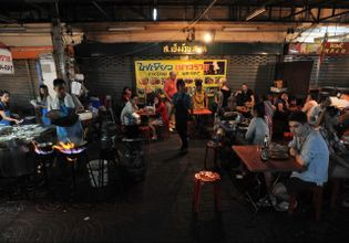 A la carte street food