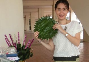 Private 3-Hour Thai Style Flower Handicraft Class in Chiang Mai Downtown (Morning / Afternoon class)