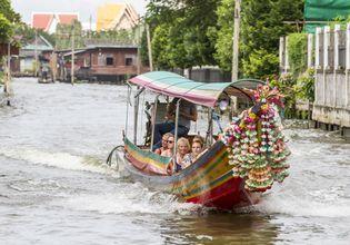 Bangkok Tuk Tuk & Bangkok Canal Tour included Thai lunch
