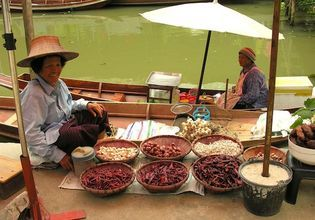 Tour Near Suvarnabhumi Airport - Kwan Riam Floating Market, Botanic Garden and Night Market