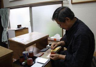 Private Lesson in Ukiyo-e Woodblock Printing