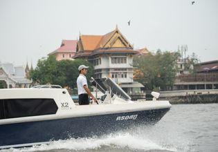 Heading to Bangkok's canal