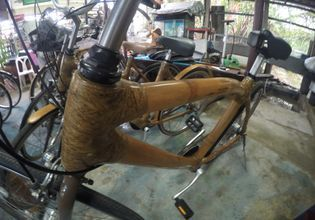 Bamboo Bicycle  Station