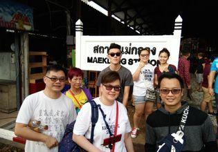 Umbrella Railway Market, Amphawa Floating Market & River Kwai bridge  ( Day trip from Bangkok)