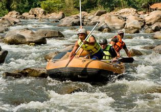 Joined Tour : Rafting and Lisu Lodge Adventure Tour (Morning)
